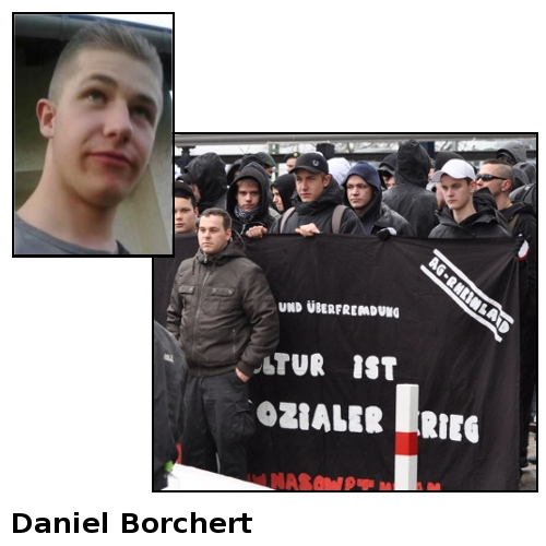 Nationale Sozialisten Wuppertal - Daniel Borchert