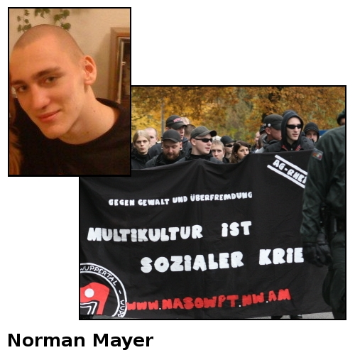 Nationale Sozialisten Wuppertal - Norman Mayer