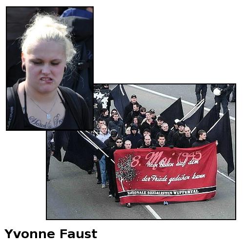 Nationale Sozialisten Wuppertal - Yvonne Faust